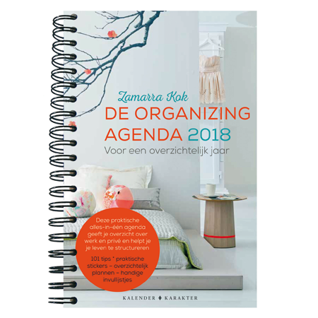De organizing agenda 2018